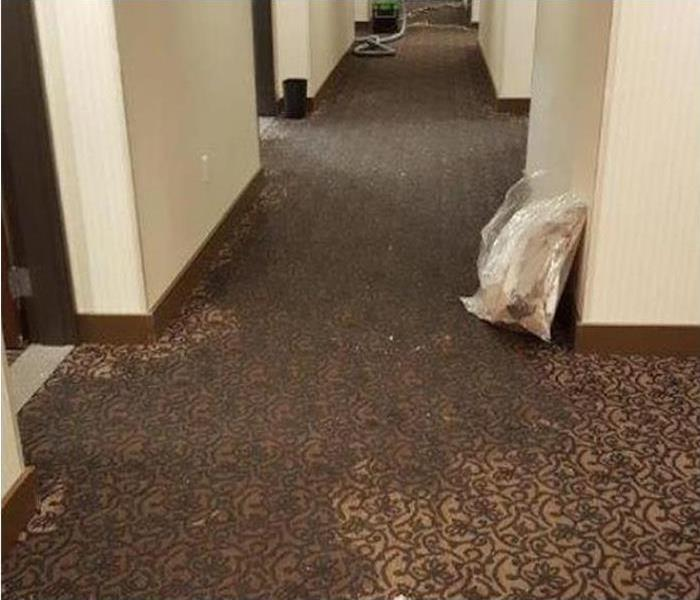 Commercial Water Damage Restoration In Louisville Before