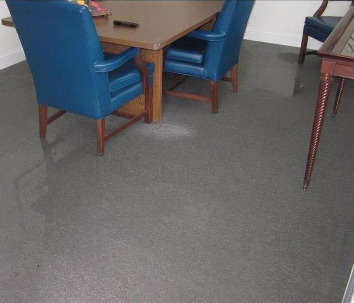 Water Damage – Lafayette Office Before