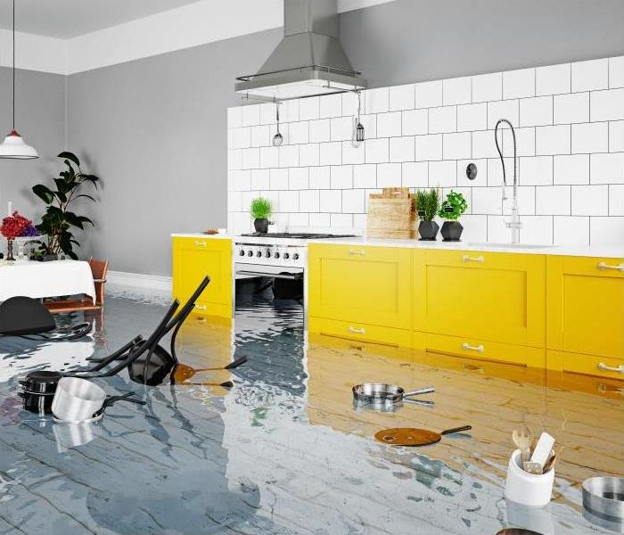 Water Damage After A Water Damage Incident In Your Louisville Home, Call The Professionals At SERVPRO For Help!